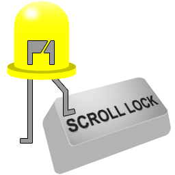 Scroll Lock Indicator software version 1.5